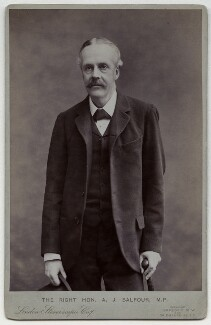 Arthur James Balfour, 1st Earl of Balfour, by London Stereoscopic & Photographic Company - NPG x177