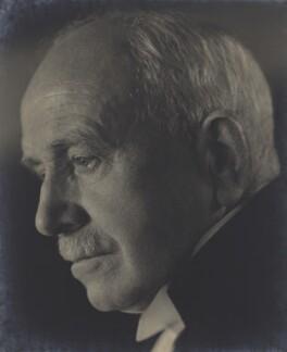 Hugh Richard Heathcote Gascoyne-Cecil, Baron Quickswood, by Howard Coster - NPG x1786