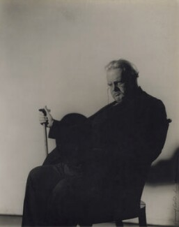 G.K. Chesterton, by Howard Coster - NPG x1787