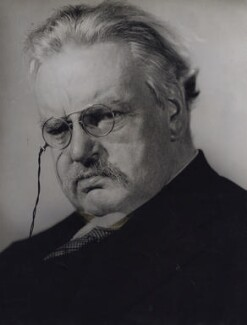 G.K. Chesterton, by Howard Coster - NPG x1791