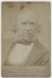 Herbert Spencer, by Herbert Rose Barraud - NPG x17938