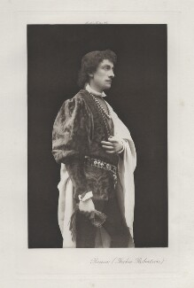 Sir Johnston Forbes-Robertson as Romeo in 'Romeo & Juliet', by Hayman Seleg Mendelssohn, published by  Virtue & Co, 1895 - NPG x17965 - © National Portrait Gallery, London