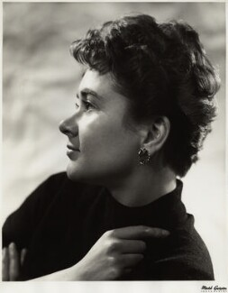 Joan Plowright, by Mark Gerson - NPG x17988