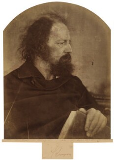 Alfred, Lord Tennyson, by Julia Margaret Cameron - NPG x18023