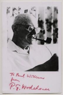 P.G. Wodehouse, by Tom Blau - NPG x18195