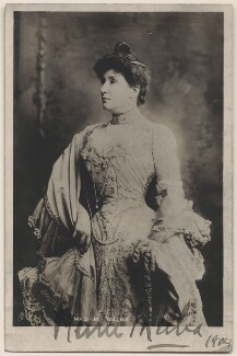 Nellie Melba, by Lafayette, published by  Raphael Tuck & Sons - NPG x18196