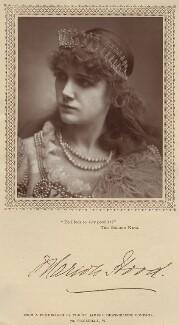 Marion Hood (née Sarah Ann Isaac), by St James's Photographic Co - NPG x18576