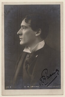 Henry Brodribb Irving, published by Rotary Photographic Co Ltd - NPG x18689