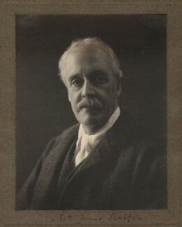 Arthur James Balfour, 1st Earl of Balfour, by Olive Edis - NPG x187
