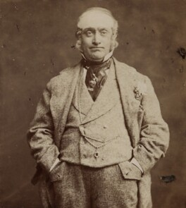 David James as Perkyn Middlewick in 'Our Boys', by London Stereoscopic & Photographic Company - NPG x18729