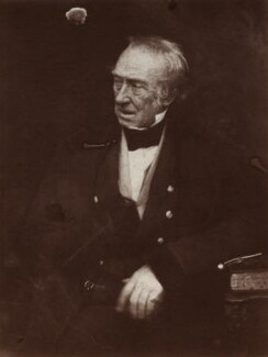 John Christian Schetky, by David Octavius Hill, and  Robert Adamson - NPG x18771