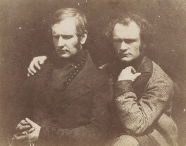 James Duncan; Thomas Duncan, by David Octavius Hill, and  Robert Adamson - NPG x18779