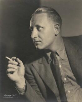 John Gunther, by Howard Coster - NPG x1891