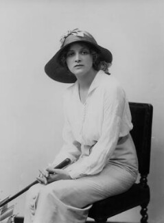 Dame Gladys Cooper, by Bassano Ltd - NPG x18913