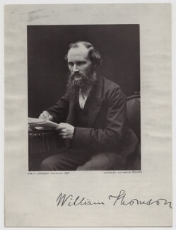 William Thomson, Baron Kelvin, probably by John Fergus, published 1877 - NPG x18986 - © National Portrait Gallery, London