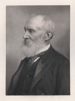William Thomson, Baron Kelvin, by T. & R. Annan & Sons, after  Elliott & Fry - NPG x18988