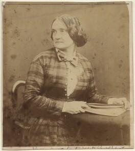 Charlotte Saunders Cushman, by Herbert Watkins - NPG x19004