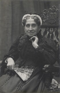Adelaide Ristori, by Unknown photographer - NPG x19012