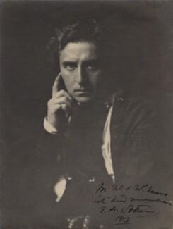 Edward Hugh Sothern as Hamlet in 'Hamlet', by Arnold Genthe - NPG x19014