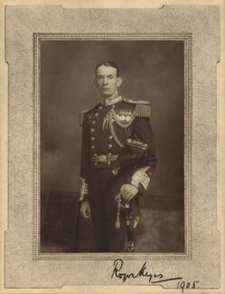 Roger John Brownlow Keyes, 1st Baron Keyes, by Elliott & Fry - NPG x19127