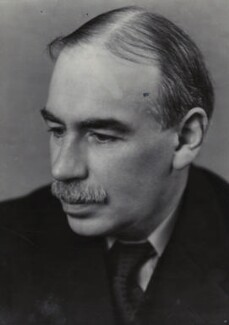 John Maynard Keynes, Baron Keynes, by Ramsey & Muspratt - NPG x19129