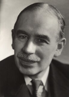 John Maynard Keynes, Baron Keynes, by Ramsey & Muspratt, 1937 - NPG x19131 - © Peter Lofts Photography / National Portrait Gallery, London