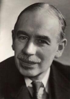John Maynard Keynes, Baron Keynes, by Ramsey & Muspratt - NPG x19131