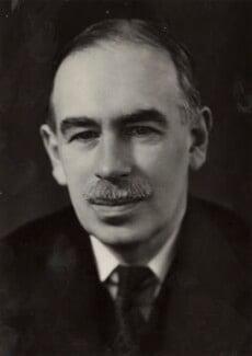 John Maynard Keynes, Baron Keynes, by Ramsey & Muspratt - NPG x19132