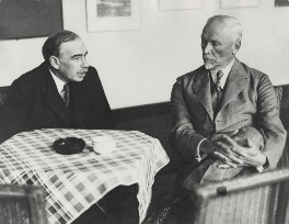 Jan Christian Smuts; John Maynard Keynes, Baron Keynes, by Unknown photographer - NPG x19133