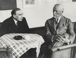 Jan Christian Smuts; John Maynard Keynes, Baron Keynes, by Unknown photographer, 1933 - NPG x19133 - © National Portrait Gallery, London
