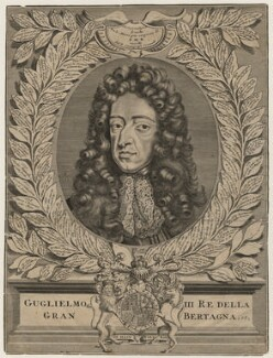 King William III, possibly by Vincenzo Maria Coronelli - NPG D10557