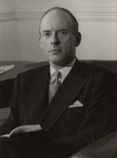 John Adrian Hope, 1st Baron Glendevon, by Howard Coster - NPG x1923