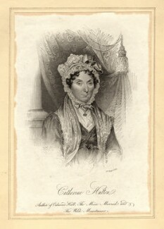 Catherine Hutton, by William Read - NPG D10560