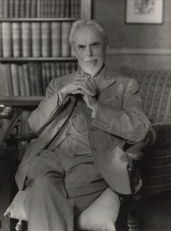 Laurence Housman, by Howard Coster - NPG x1929