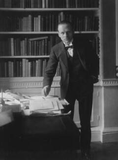 Sir (Ralph) Norman Angell (né Ralph Norman Angell Lane), by Bassano Ltd, circa 1913 - NPG x19322 - © National Portrait Gallery, London