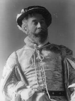 Cyril Flower, 1st Baron Battersea, by Alexander Bassano - NPG x19343