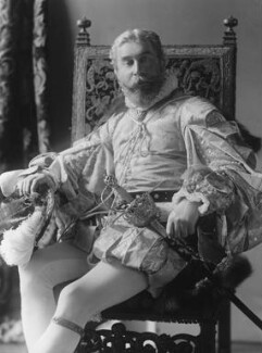 Cyril Flower, 1st Baron Battersea, by Alexander Bassano - NPG x19344
