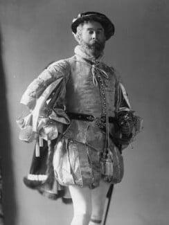 Cyril Flower, 1st Baron Battersea, by Alexander Bassano - NPG x19346