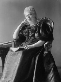 Constance Flower (née de Rothschild), Lady Battersea, by Alexander Bassano - NPG x19350