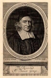 Thomas Gouge, by Robert White, after  John Riley - NPG D10566