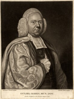William Hayes, by Thomas Park, after  John Cornish - NPG D10567