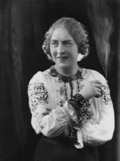 Laura Knight, by Bassano Ltd, 20 February 1936 - NPG x19410 - © National Portrait Gallery, London