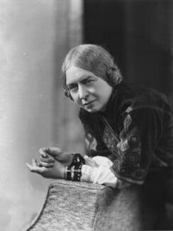 Laura Knight, by Bassano Ltd, 20 February 1936 - NPG x19412 - © National Portrait Gallery, London