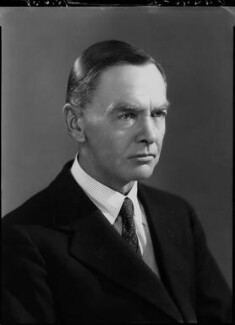 Sir Leonard Woolley, by Bassano Ltd - NPG x19442
