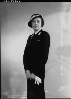Edwina Cynthia Annette (née Ashley), Countess Mountbatten of Burma, by Bassano Ltd - NPG x19459