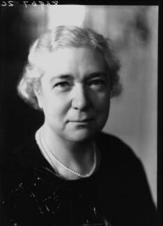 Winifred Clara Cullis, by Bassano Ltd - NPG x19460