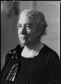 Winifred Clara Cullis, by Bassano Ltd - NPG x19462