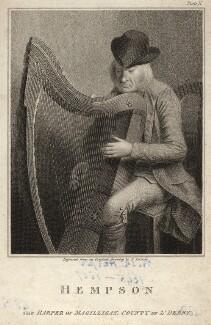 Denis Hempson (O'Hempsy, O'Hampsey, Hampson), after Edward Scriven - NPG D10568