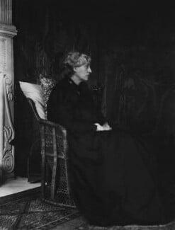 Jane Morris (née Burden), by Sir Emery Walker, May 1898 - NPG x19603 - © National Portrait Gallery, London