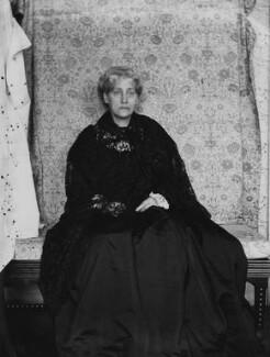 Jane Morris (née Burden), by Sir Emery Walker - NPG x19604
